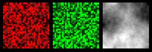 Random Colored Box Grid